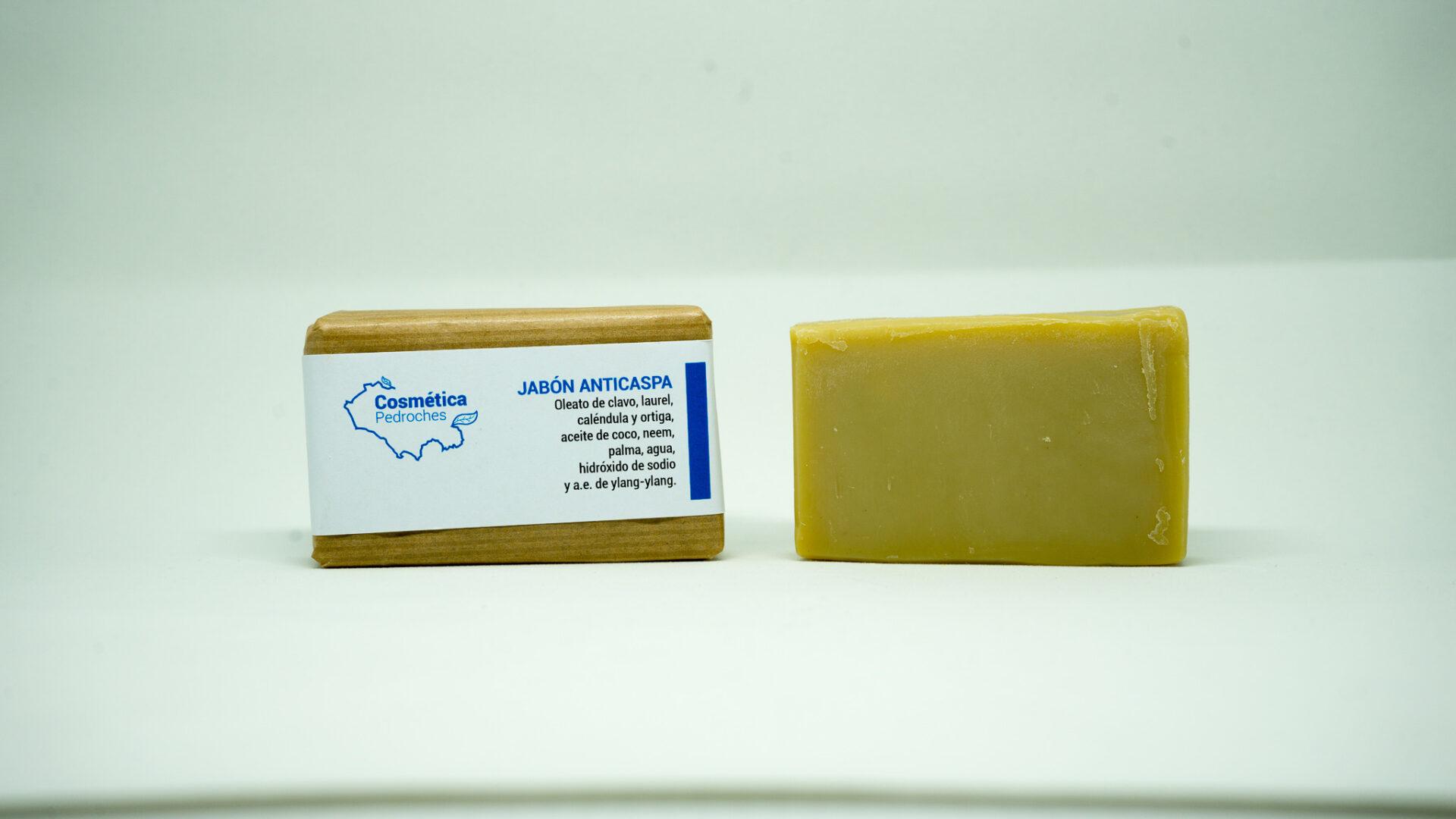 Jabón natural anticaspa