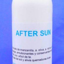 After Sum natural, eficaz calmante y regenerante para despues del sol
